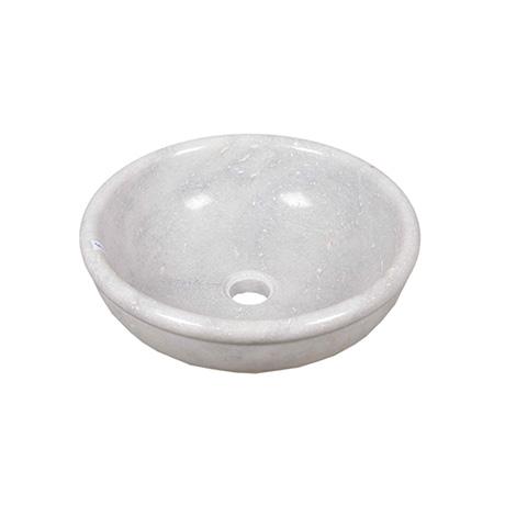 Vacrka handfat i marmor. Diametern är 40 cm